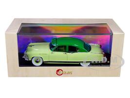 1953 Kaiser Frazer Manhattan 2-Door Sedan Two-Tone Green Limited Edition 250 pieces Worldwide 1/43 Model Car Esval Models EMUS43047 A