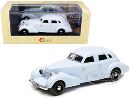 1934 Duesenberg Sedan by A.H. Walker Open Lights Gray Limited Edition 250 pieces Worldwide 1/43 Model Car Esval Models EMUS43081 A