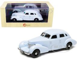 1934 Duesenberg Sedan by A.H. Walker Closed Lights Gray Limited Edition 250 pieces Worldwide 1/43 Model Car Esval Models EMUS43081 B
