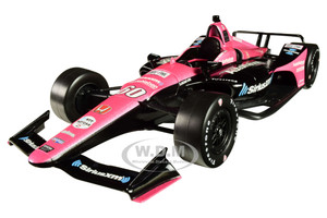 Honda Dallara Indy Car #60 Jack Harvey SiriusXM AutoNation Meyer Shank Racing with Arrow Schmidt Peterson Motorsports 1/18 Diecast Model Car Greenlight 11072