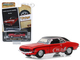 1969 Chevrolet Camaro SS Red Black Top A Word Or Two To The Competition You Lose Vintage Ad Cars Series 1 1/64 Diecast Model Car Greenlight 39020 A