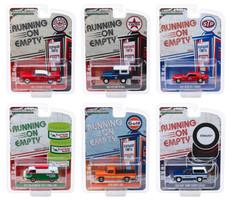 Running on Empty Series 9 6 piece Set 1/64 Diecast Model Cars Greenlight 41090