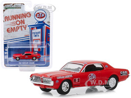 1967 Mercury Cougar Red STP Cougar Country Running on Empty Series 9 1/64 Diecast Model Car Greenlight 41090 C