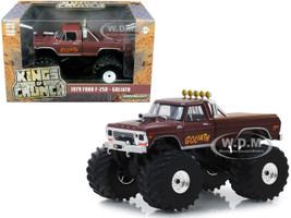 1979 Ford F-250 Ranger Monster Truck Goliath 1/43 Diecast Model Car Greenlight 88023