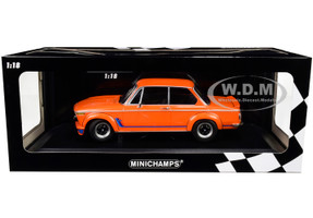 1973 BMW 2002 Turbo Orange Stripes Limited Edition 300 pieces Worldwide 1/18 Diecast Model Car Minichamps 155026202