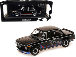 1973 BMW 2002 Turbo Black Stripes Limited Edition 360 pieces Worldwide 1/18 Diecast Model Car Minichamps 155026204