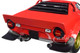 1974 Lancia Stratos Red Limited Edition 300 pieces Worldwide 1/18 Diecast Model Car Minichamps 155741701