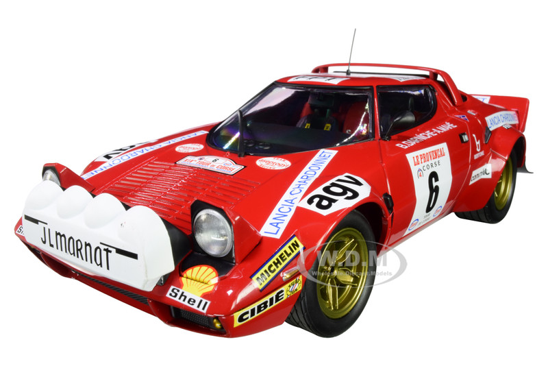Lancia Stratos #6 Bernard Darniche Alain Mahe Winners Tour de Corse 1975 Limited Edition 402 pieces Worldwide 1/18 Diecast Model Car Minichamps 155751706