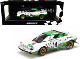 Lancia Stratos #14 Sandro Munari Mario Mannucci Winners Rallye Monte Carlo 1975 Limited Edition 504 pieces Worldwide 1/18 Diecast Model Car Minichamps 155751714
