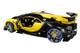 Bugatti Vision Gran Turismo 16 Giallo Midas Metallic Yellow Carbon Fiber 1/18 Model Car Autoart 70989