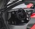 McLaren P1 Volcano Red Metallic Dark Red Carbon Fiber 1/18 Model Car Autoart 76062