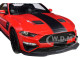 2019 Ford Mustang Roush Stage 3 Red Black Stripes 1/18 Model Car GT Spirit GT260