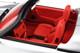 Porsche 911 Carrera 3.2 Speedster Silver Red Interior 1/18 Model Car GT Spirit GT768