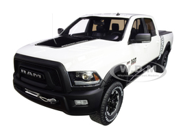 Dodge Ram 2500 Power Wagon Pickup Truck Bed Cover White 1/18 Model Car GT Spirit GT790