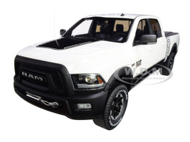 RAM 2500 Power Wagon Pickup Truck Bed Cover White 1/18 Model Car GT Spirit GT790