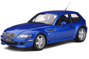 BMW Z3 M Coupe 3.2 Estoril Blue Metallic Limited Edition 2000 pieces Worldwide 1/18 Model Car Otto Mobile OT318
