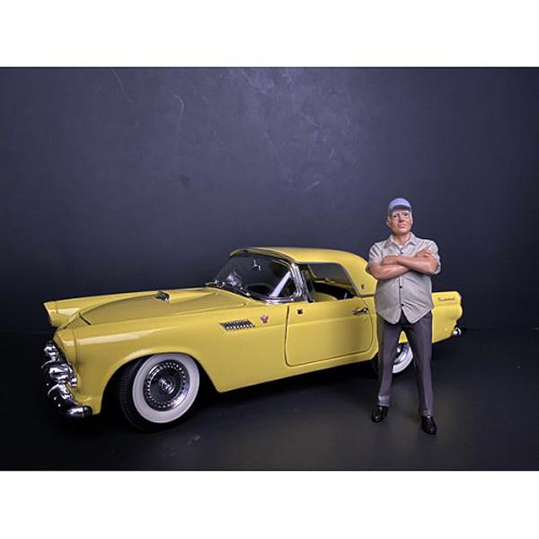 Weekend Car Show Figurine II for 1/24 Scale Models American Diorama 38310