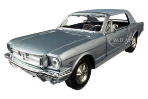 """Edit a Product - 1964 1/2 Ford Mustang Coupe Metallic Light Blue """"Timeless Legends"""" 1/24 Diecast Model Car by Motormax 73273lghtbl"""