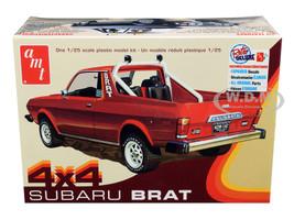 Skill 2 Model Kit 1978 Subaru BRAT 4x4 Pickup Truck 1/25 Scale Model AMT AMT1128 M