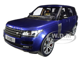 2017 Range Rover SV Autobiography Dynamic Metallic Dark Blue 1/18 Diecast Model Car LCD Models LCD 18001 BL