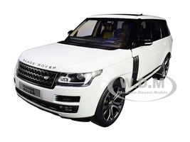 2017 Range Rover SV Autobiography Dynamic White 1/18 Diecast Model Car LCD Models LCD 18001 WH