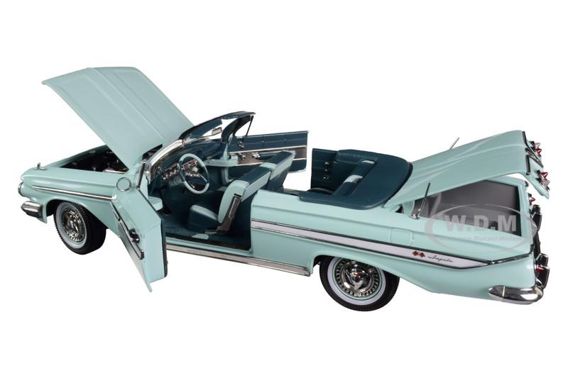 Chevrolet Chevy Impala Burgund Weiss Cabrio Offen 1961 1//18 Sun Star Modell Auto