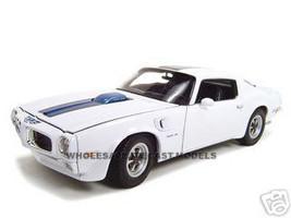 1972 Pontiac Firebird Trans Am White 1/18 Diecast Car Welly 12566