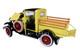 1931 Ford Model A Pickup Truck Bronson Yellow Black Top 1/18 Diecast Model Car SunStar 6114
