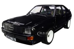 1985 Audi Sport Quattro Black 1/18 Diecast Model Car Norev 188315