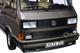 1990 Volkswagen Multivan Bus Bronze Metallic 1/18 Diecast Model Car Norev 188543