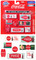 1950's Thru 60's Coca Cola Building Signs 1/87 HO Scale Models Classic Metal Works 20244