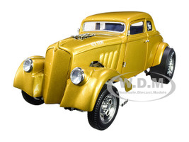 1933 Gasser Metallic Gold Limited Edition 240 pieces Worldwide 1/18 Diecast Model Car ACME A1800914