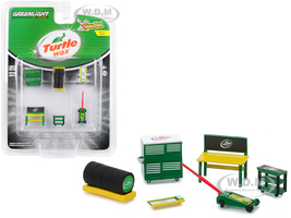 Turtle Wax 6 piece Shop Tools Set Shop Tool Accessories Series 1 1/64 Greenlight 16020 C