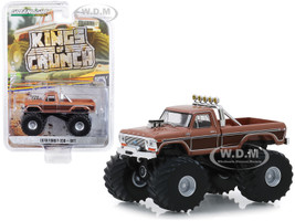 1978 Ford F-350 Monster Truck BFT Brown Kings of Crunch Series 5 1/64 Diecast Model Car Greenlight 49050 A