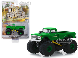 1979 Ford F-250 Monster Truck Mudhog Green Kings of Crunch Series 5 1/64 Diecast Model Car Greenlight 49050 C