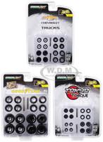 Wheel & Tire Packs Series 2 Set of 3 Multipacks 1/64 Greenlight 16030