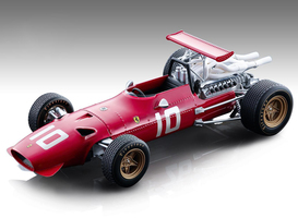 Ferrari 312 F1/68 #10 Jacky Ickx Formula One Dutch Grand Prix 1968 Mythos Series Limited Edition 155 pieces Worldwide 1/18 Model Car Tecnomodel TM18-132 B