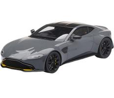 Aston Martin Vantage China Gray Carbon Fiber Top 1/18 Model Car Top Speed TS0185