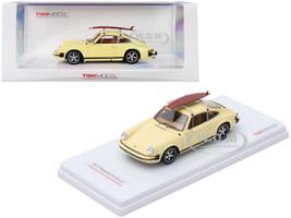 1977 Porsche 911S 2.7 Yellow Surf Board 1/43 Model Car True Scale Miniatures 430191
