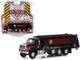2018 International WorkStar Tanker Truck Black Texaco SD Trucks Series 8 1/64 Diecast Model Greenlight 45080 A