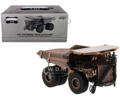 CAT Caterpillar 797F Mining Truck Copper Finish Elite Series 1/125 Diecast Model Diecast Masters 85251