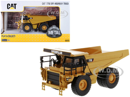 CAT Caterpillar 775E Off-Highway Dump Truck Play & Collect Series 1/64 Diecast Model Diecast Masters 85616