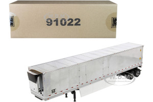 53' Reefer Refrigerated Van Trailer Chrome Transport Series 1/50 Diecast Model Diecast Masters 91022