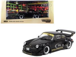 Porsche RWB 930 Stella Artois Matt Black RAUH-Welt BEGRIFF 1/43 Diecast Model Car Tarmac Works T43-013-MB