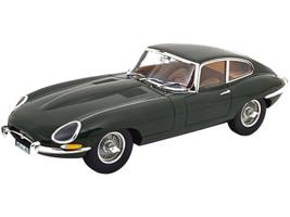 1961 Jaguar E-Type Coupe Green 1/12 Diecast Model Car Norev 122710