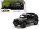 Toyota FJ Cruiser Roof Rack Charcoal Gray Metallic Just Trucks 1/24 Diecast Model Car Jada 99318