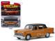 1972 Checker Marathon Gold Metallic Black Top Chicago 2018 Mecum Auctions Collector Cars Series 4 1/64 Diecast Model Car Greenlight 37190 F