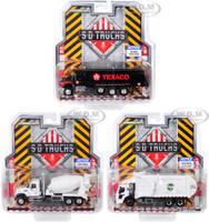 SD Trucks Series 8 3 piece Set 1/64 Diecast Models Greenlight 45080