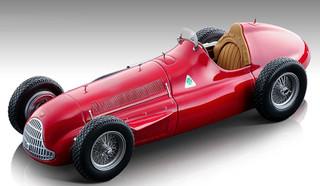 1951 Alfa Romeo Alfetta 159M Red Press Version Mythos Series Limited Edition 80 pieces Worldwide 1/18 Model Car Tecnomodel TM18-147 A