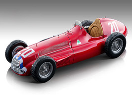 Alfa Romeo Alfetta 159M #20 Nino Farina Formula One Spain Grand Prix 1951 Mythos Series Limited Edition 105 pieces Worldwide 1/18 Model Car Tecnomodel TM18-147 B